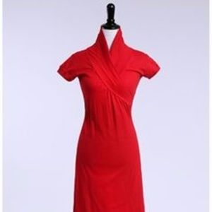 Shabby Apple Red Polo Dress